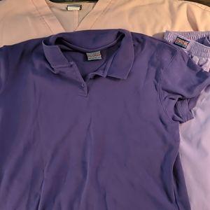 Lot of Cherokee scrubs and work shirt